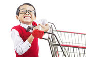 Shopping for back to school — Foto Stock