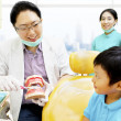 Education to keep dental hygienist — Stock Photo #12230837