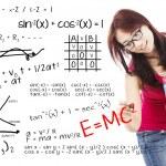 Solution of math and physics formula — Stock Photo