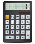 Elektronická kalkulačka vektorové ilustrace — Stock vektor