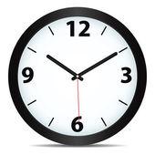 Horloge mécanique de vecteur — Vecteur