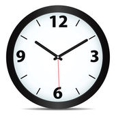 Vektor mekanisk klocka — Stockvektor