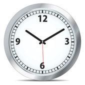 Vector mechanical clock — Stock Vector