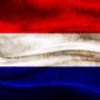 Grunge flag Netherlands — Stock Photo