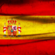 Grunge flag Spain — Stock Photo