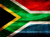 Grunge flag series - South Africa — Stock Photo