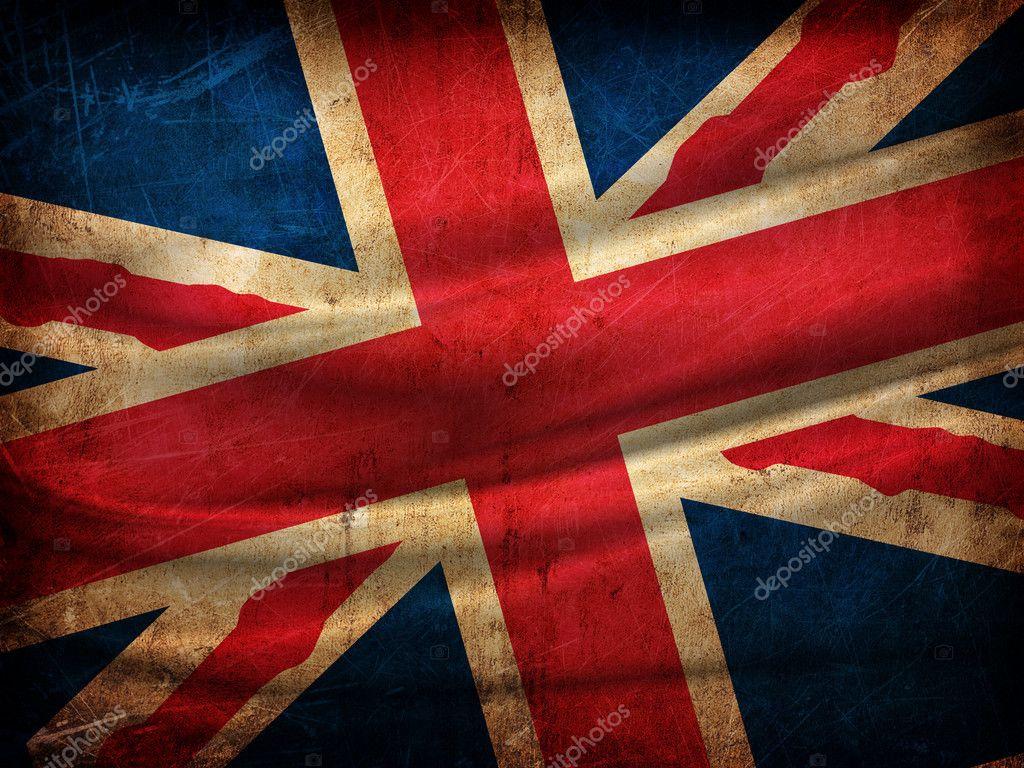 Bandeira de Inglaterra — Fotografias de Stock © denisovd #10991910