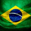 Grunge flag Brazil - Stock Photo