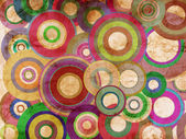 Grunge circles abstract background — Stock Photo