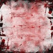 Stock Photo: Red grunge background