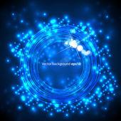Circles vector light background — Stock Vector
