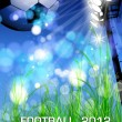 Football flyer design — Stock Vector #11045156
