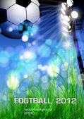 Football flyer design — Stock Vector
