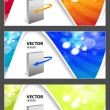 Website headers for your products — Stock Vector
