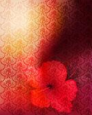 Fond fleur romantique — Vecteur