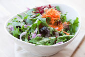 Garden vegetable salad — Stock Photo