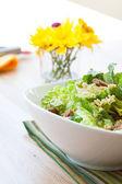 Vegan Caesar Salad — Stock Photo