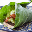 Vegan Taco Wrap - Stock Photo