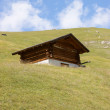 Stock Photo: Wooden storehouse in mountain