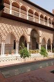 Patio de las Doncellas in Sevilla — Stock Photo