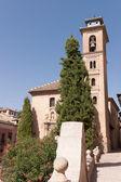 Iglesia de San Gil y Santa Ana in Granada — Stock Photo