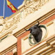 "Detail of the ""Plaza de toros"" in Zaragoza — Stock Photo"