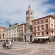 Three Martyrs square in Rimini — Stock Photo #11314601