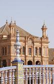 Detail of Plaza de Espana in Seville — Stock Photo