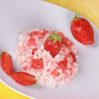 Risotto with strawberries — Stock Photo #11799531
