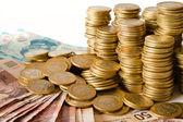 A lot of mexican pesos money — Stock Photo