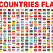Stock Photo: Countries flags