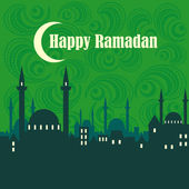 Happy Ramadan — Stockvektor