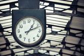 Relógio da cidade — Fotografia Stock