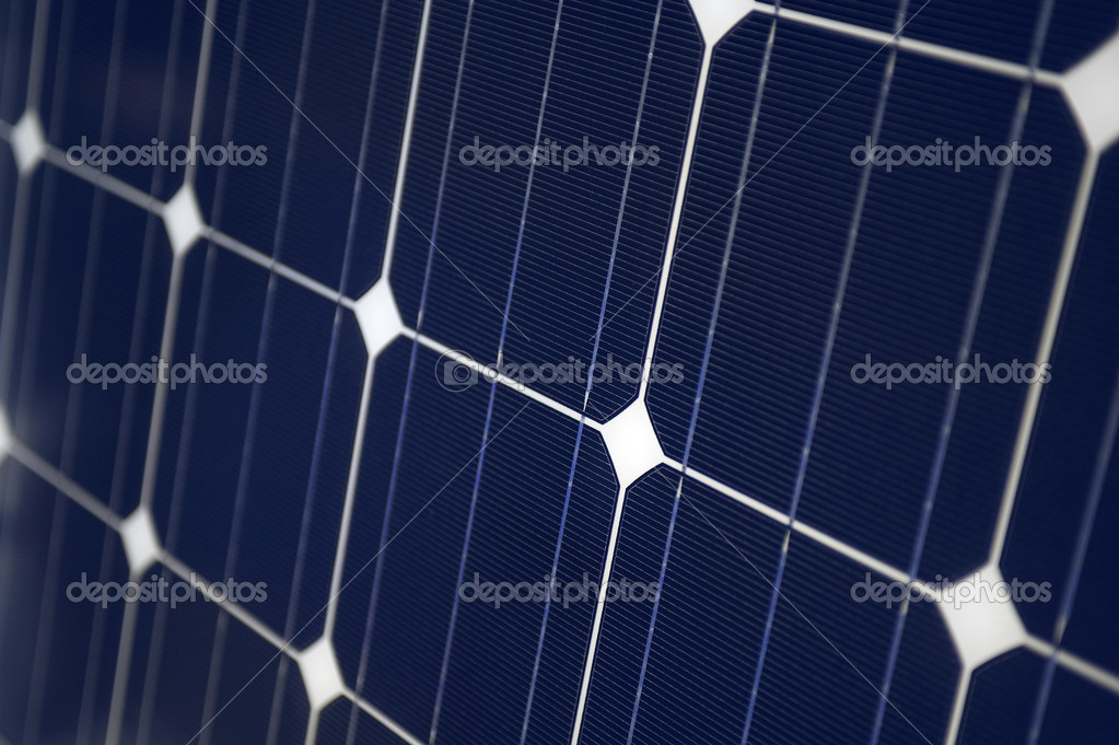 Close up of solar panels — Stock Photo #10818922