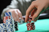 Poker texas holdem — Stock Photo