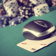 Poker on line concept — Stock Photo #11325978