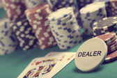 Texas hold'em — Stock Photo