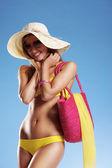 Summer vacation woman — Stock Photo