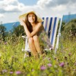 Summer day relaxing — Stock Photo