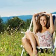 Stock Photo: Summer day relaxing