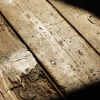 Old wood floor - Stock Photo