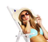 Chica de verano — Foto de Stock