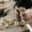 Hands of a craftsman — Stock Photo #12230408