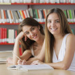 Friendly students — Stock Photo