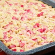 Rhubarb wholemeal cake - Photo