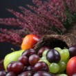 Fruit cornucopia — Stock Photo