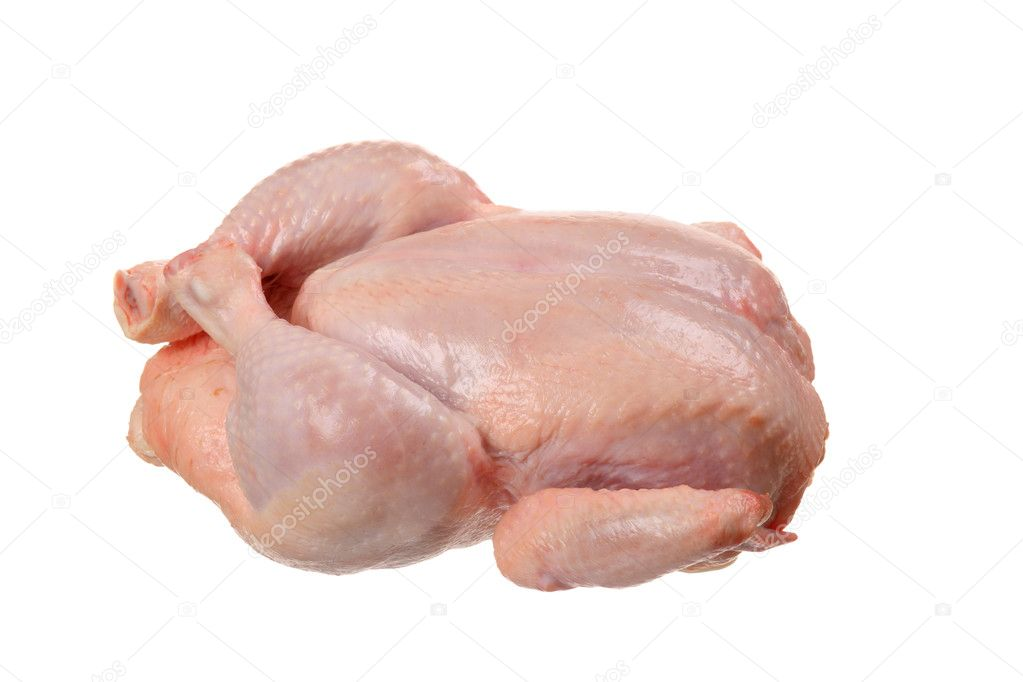 how to tell if chicken is raw