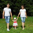 Happy family — Stock Photo #11559089