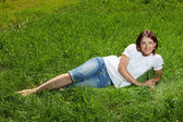 Twenty years' woman — Stock Photo