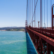 San Francisco's Golden Gate vanishing point — Stock Photo